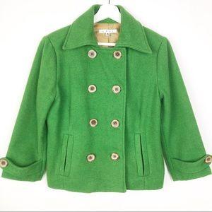 CAbi Rear Window #659 wool blend pea coat